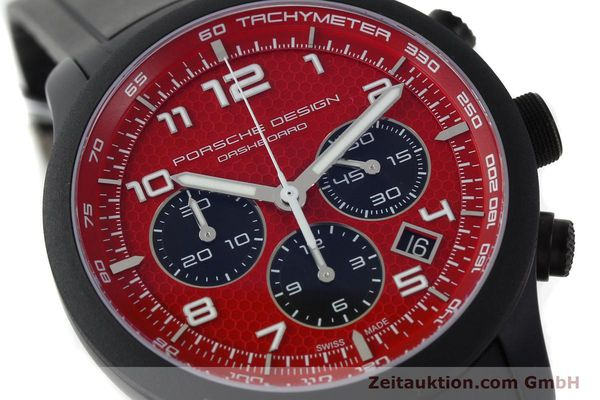 Used luxury watch Porsche Design Dashbord chronograph aluminium automatic Kal. ETA 2894-2 Ref. 6612.17/3  | 142117 02