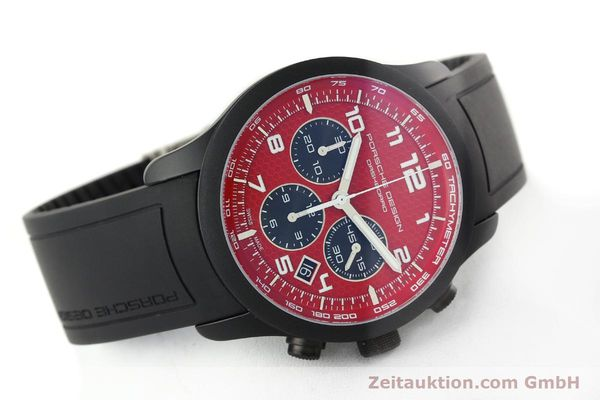 Used luxury watch Porsche Design Dashbord chronograph aluminium automatic Kal. ETA 2894-2 Ref. 6612.17/3  | 142117 03