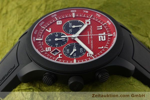 Used luxury watch Porsche Design Dashbord chronograph aluminium automatic Kal. ETA 2894-2 Ref. 6612.17/3  | 142117 05