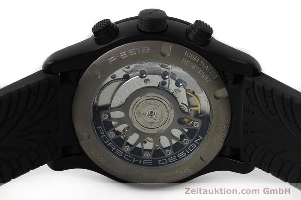 Used luxury watch Porsche Design Dashbord chronograph aluminium automatic Kal. ETA 2894-2 Ref. 6612.17/3  | 142117 09