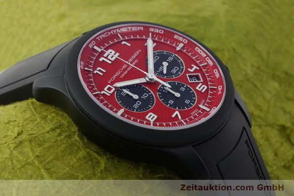 Used luxury watch Porsche Design Dashbord chronograph aluminium automatic Kal. ETA 2894-2 Ref. 6612.17/3  | 142117 15