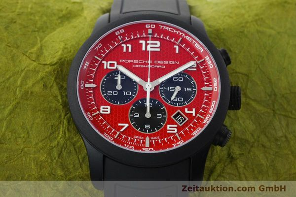 Used luxury watch Porsche Design Dashbord chronograph aluminium automatic Kal. ETA 2894-2 Ref. 6612.17/3  | 142117 16