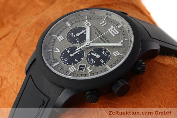 Used luxury watch Porsche Design Dashbord chronograph aluminium automatic Kal. ETA 2894-2 Ref. 6612.17/3  | 142118 01