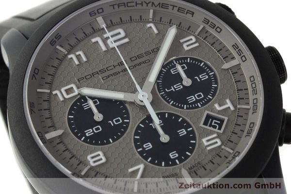Used luxury watch Porsche Design Dashbord chronograph aluminium automatic Kal. ETA 2894-2 Ref. 6612.17/3  | 142118 02