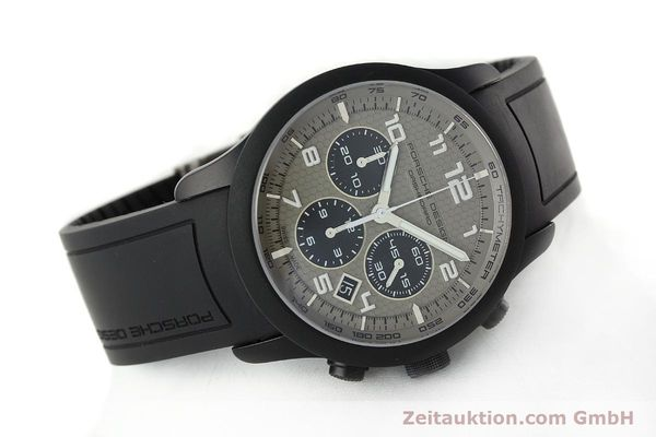 Used luxury watch Porsche Design Dashbord chronograph aluminium automatic Kal. ETA 2894-2 Ref. 6612.17/3  | 142118 03
