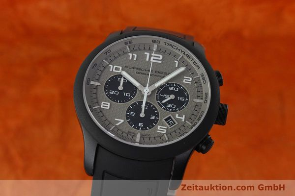 Used luxury watch Porsche Design Dashbord chronograph aluminium automatic Kal. ETA 2894-2 Ref. 6612.17/3  | 142118 04