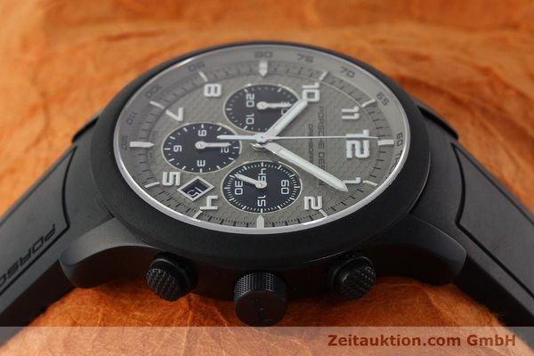 Used luxury watch Porsche Design Dashbord chronograph aluminium automatic Kal. ETA 2894-2 Ref. 6612.17/3  | 142118 05