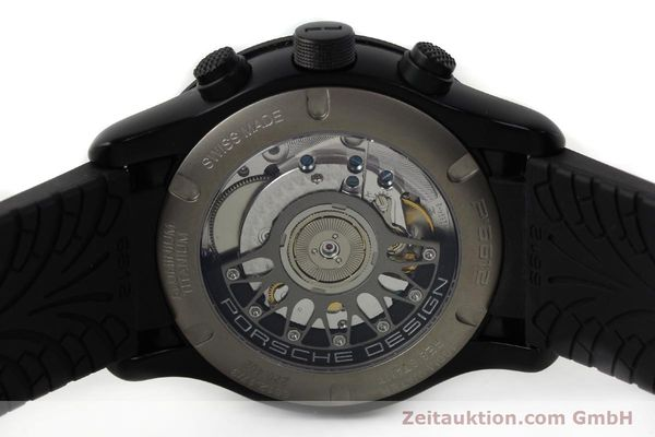 Used luxury watch Porsche Design Dashbord chronograph aluminium automatic Kal. ETA 2894-2 Ref. 6612.17/3  | 142118 09