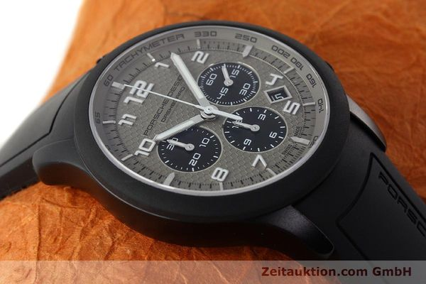Used luxury watch Porsche Design Dashbord chronograph aluminium automatic Kal. ETA 2894-2 Ref. 6612.17/3  | 142118 14