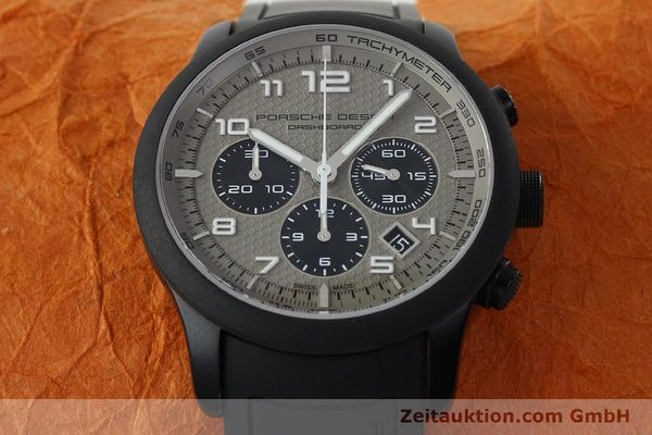 Used luxury watch Porsche Design Dashbord chronograph aluminium automatic Kal. ETA 2894-2 Ref. 6612.17/3  | 142118 15