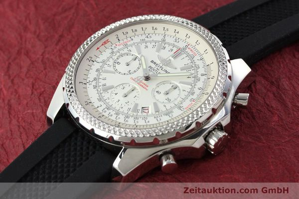 Used luxury watch Breitling Bentley chronograph steel automatic Kal. B25 ETA 2892A2 Ref. A25362  | 142120 01