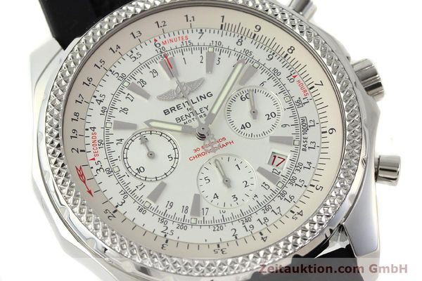 Used luxury watch Breitling Bentley chronograph steel automatic Kal. B25 ETA 2892A2 Ref. A25362  | 142120 02