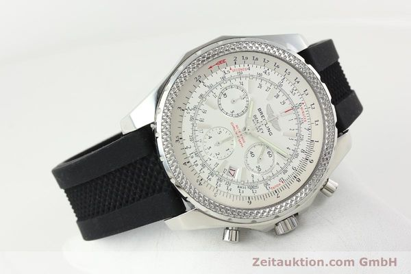 Used luxury watch Breitling Bentley chronograph steel automatic Kal. B25 ETA 2892A2 Ref. A25362  | 142120 03