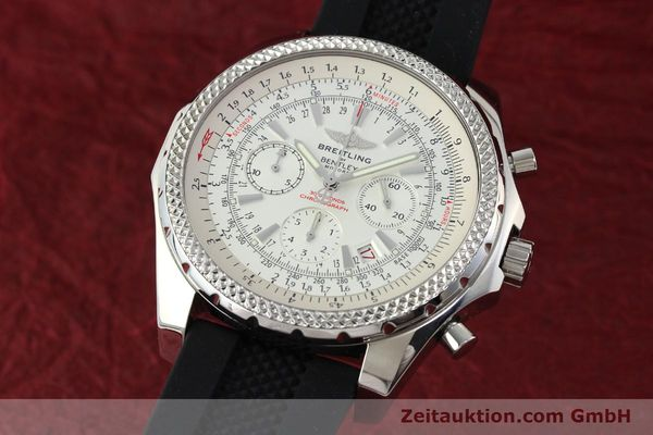 Used luxury watch Breitling Bentley chronograph steel automatic Kal. B25 ETA 2892A2 Ref. A25362  | 142120 04