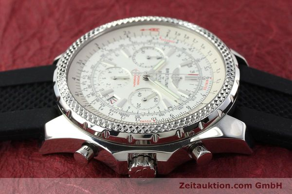 Used luxury watch Breitling Bentley chronograph steel automatic Kal. B25 ETA 2892A2 Ref. A25362  | 142120 05