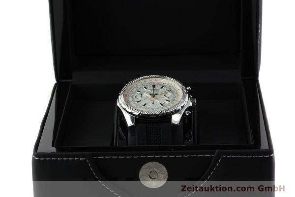 Used luxury watch Breitling Bentley chronograph steel automatic Kal. B25 ETA 2892A2 Ref. A25362  | 142120 07