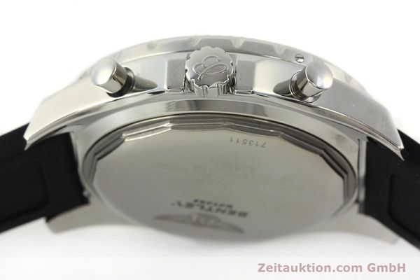 Used luxury watch Breitling Bentley chronograph steel automatic Kal. B25 ETA 2892A2 Ref. A25362  | 142120 08