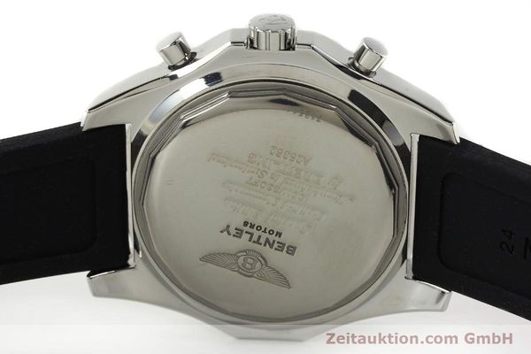 Used luxury watch Breitling Bentley chronograph steel automatic Kal. B25 ETA 2892A2 Ref. A25362  | 142120 09