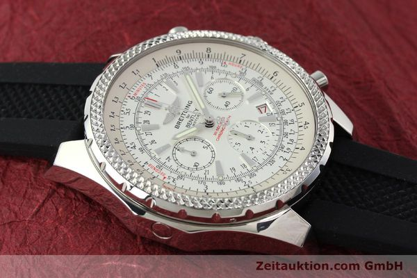 Used luxury watch Breitling Bentley chronograph steel automatic Kal. B25 ETA 2892A2 Ref. A25362  | 142120 13