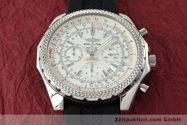 Used luxury watch Breitling Bentley chronograph steel automatic Kal. B25 ETA 2892A2 Ref. A25362  | 142120 14