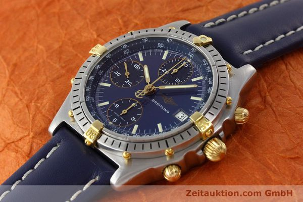 Used luxury watch Breitling Chronomat chronograph steel / gold automatic Kal. B13 VAL 7750 Ref. 81.950B13047  | 142121 01
