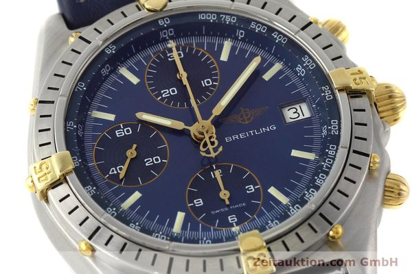 Used luxury watch Breitling Chronomat chronograph steel / gold automatic Kal. B13 VAL 7750 Ref. 81.950B13047  | 142121 02