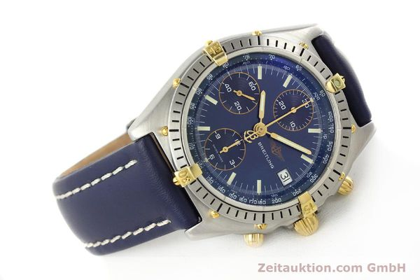 Used luxury watch Breitling Chronomat chronograph steel / gold automatic Kal. B13 VAL 7750 Ref. 81.950B13047  | 142121 03