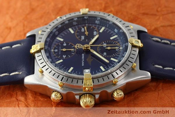 Used luxury watch Breitling Chronomat chronograph steel / gold automatic Kal. B13 VAL 7750 Ref. 81.950B13047  | 142121 05