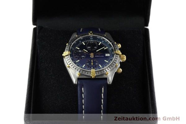 Used luxury watch Breitling Chronomat chronograph steel / gold automatic Kal. B13 VAL 7750 Ref. 81.950B13047  | 142121 07