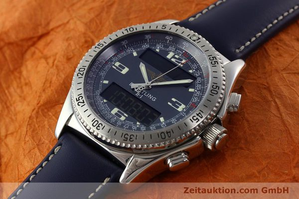 Used luxury watch Breitling B1 chronograph steel quartz Kal. B68 ETA E20.331 Ref. A68362  | 142123 01