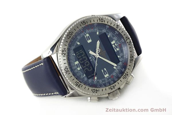 Used luxury watch Breitling B1 chronograph steel quartz Kal. B68 ETA E20.331 Ref. A68362  | 142123 03