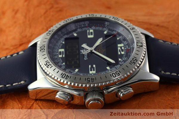 Used luxury watch Breitling B1 chronograph steel quartz Kal. B68 ETA E20.331 Ref. A68362  | 142123 05