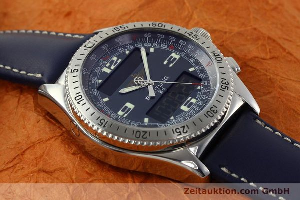 Used luxury watch Breitling B1 chronograph steel quartz Kal. B68 ETA E20.331 Ref. A68362  | 142123 11