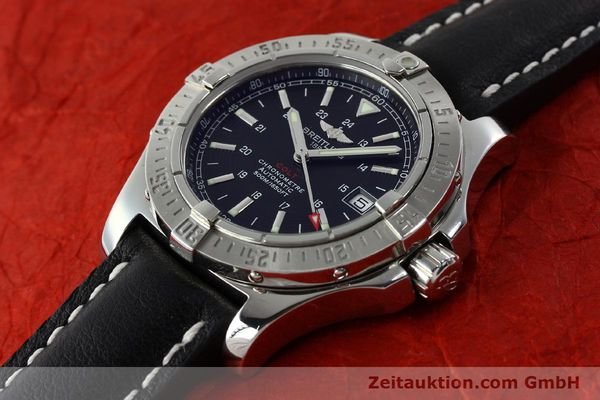 Used luxury watch Breitling Colt steel automatic Kal. B17 ETA 2824-2 Ref. A17380  | 142125 01