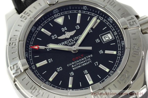 Used luxury watch Breitling Colt steel automatic Kal. B17 ETA 2824-2 Ref. A17380  | 142125 02