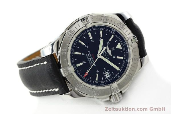 Used luxury watch Breitling Colt steel automatic Kal. B17 ETA 2824-2 Ref. A17380  | 142125 03