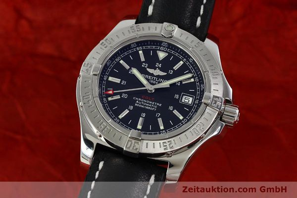 Used luxury watch Breitling Colt steel automatic Kal. B17 ETA 2824-2 Ref. A17380  | 142125 04