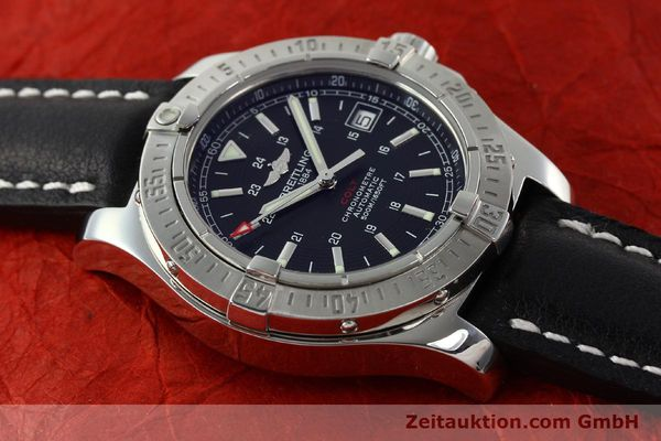Used luxury watch Breitling Colt steel automatic Kal. B17 ETA 2824-2 Ref. A17380  | 142125 15