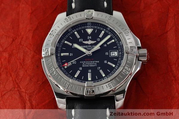 Used luxury watch Breitling Colt steel automatic Kal. B17 ETA 2824-2 Ref. A17380  | 142125 16