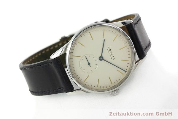 Used luxury watch Nomos Orion steel manual winding Kal. ETA 7001  | 142126 03
