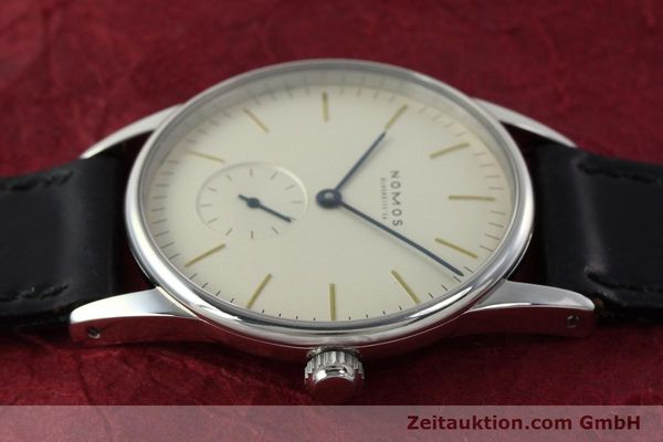Used luxury watch Nomos Orion steel manual winding Kal. ETA 7001  | 142126 05