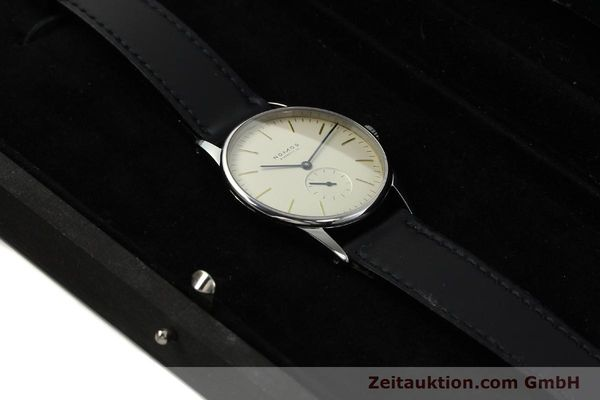 Used luxury watch Nomos Orion steel manual winding Kal. ETA 7001  | 142126 07