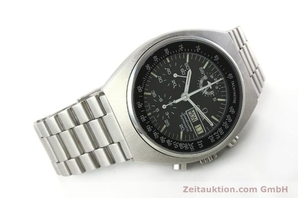 Used luxury watch Omega Speedmaster chronograph steel automatic Kal. 1045 Ref. 176.0012  | 142127 03