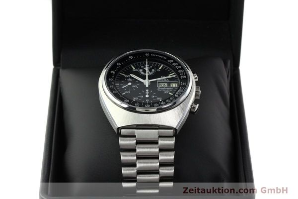 Used luxury watch Omega Speedmaster chronograph steel automatic Kal. 1045 Ref. 176.0012  | 142127 07