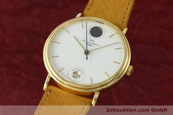 Used luxury watch IWC Portofino 18 ct gold automatic Kal. C.3755 Ref. 3512/3550  | 142128 04