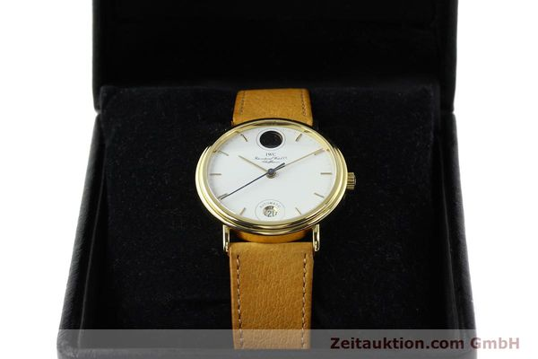 Used luxury watch IWC Portofino 18 ct gold automatic Kal. C.3755 Ref. 3512/3550  | 142128 07