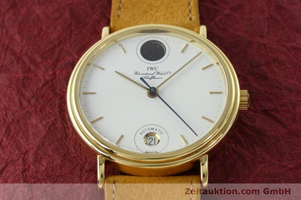 Used luxury watch IWC Portofino 18 ct gold automatic Kal. C.3755 Ref. 3512/3550  | 142128 16