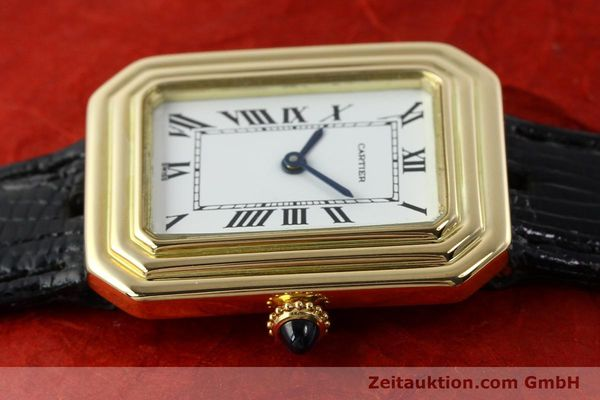 Used luxury watch Cartier * 18 ct gold manual winding Kal. 78-1 ETA 2512-1  | 142129 05