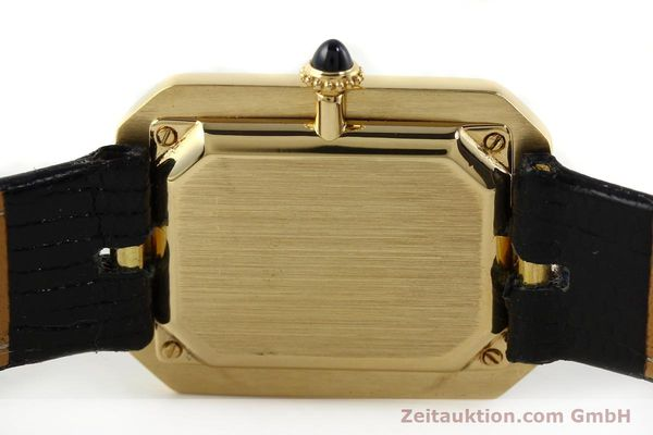 Used luxury watch Cartier * 18 ct gold manual winding Kal. 78-1 ETA 2512-1  | 142129 08
