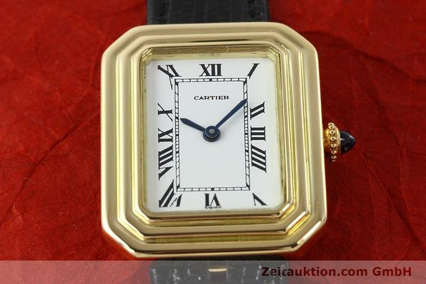Used luxury watch Cartier * 18 ct gold manual winding Kal. 78-1 ETA 2512-1  | 142129 15